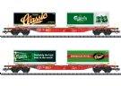 Carlsberg and Tuborg Container Transport Car Set
