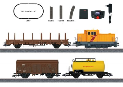 Danish Freight Train Digital Starter Set.