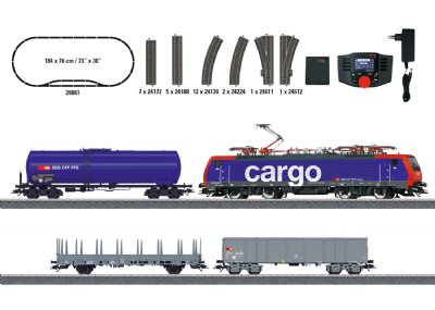 Swiss Freight Train Digital Starter Set.